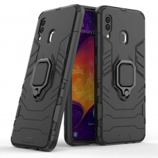Бронь-чехол Ring Armor Case Huawei P Smart Z (Чёрный)