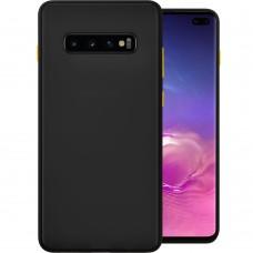 Накладка Totu Gingle Series Samsung Galaxy S10 Plus (Чёрный)