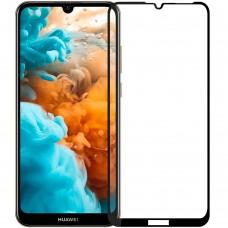 Стекло 3D Huawei Y7 (2019) Black