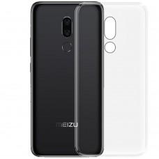 Силикон WS Meizu M8 Lite (прозрачный)