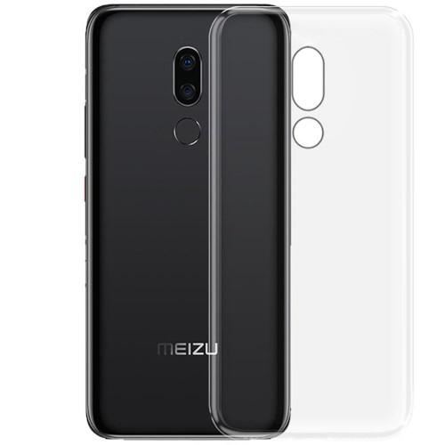 Силиконовый чехол WS Meizu M8 Lite (прозрачный)
