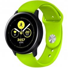 Ремешок Silicone Band Samsung Gear S2 / S3 22mm (Lime) Gadgik