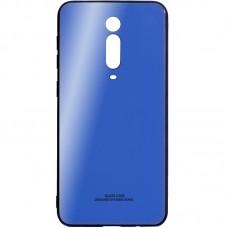 Накладка Glass Case Xiaomi Redmi Mi9T / K20 Pro (Синий)