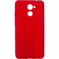 Силиконовый чехол SMTT Huawei Y7 2017 (Красный)