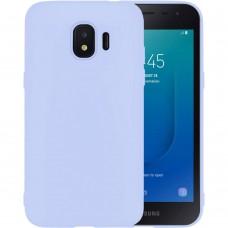 Силикон iNavi Color Samsung Galaxy J2 (2018) J250 (фиолетовый)