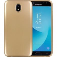 Силикон T-Phox Shiny Samsung Galaxy J7 (2017) J730 (Золотой)
