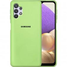 Силикон Original Case Samsung Galaxy A32 (2021) (Зелёный)