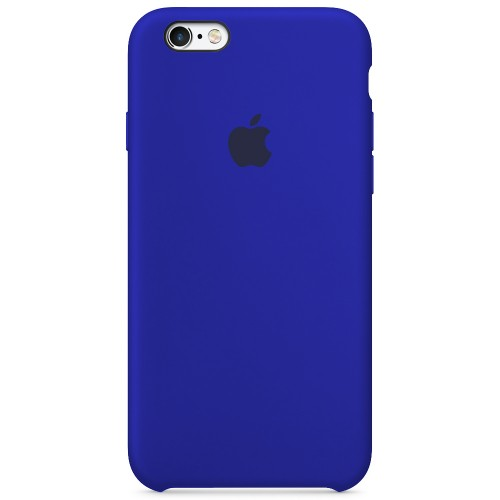Силиконовый чехол Original Case Apple iPhone 6 / 6s (48) Ultramarine