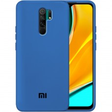 Силикон Original Case Xiaomi Redmi 9 (Кобальт)