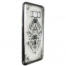 Силиконовый чехол Kingxbar Diamond Meizu M6 (Герб, Серый)