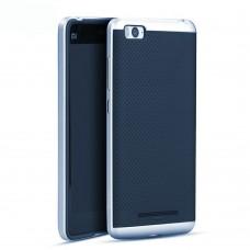 Силикон iPaky Carbon Case Xiaomi Mi4c (Синий)