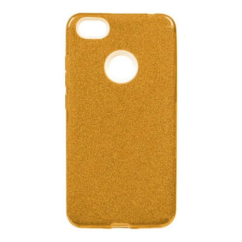 Силикон Glitter Apple iPhone 7 Plus / 8 Plus (золотой)