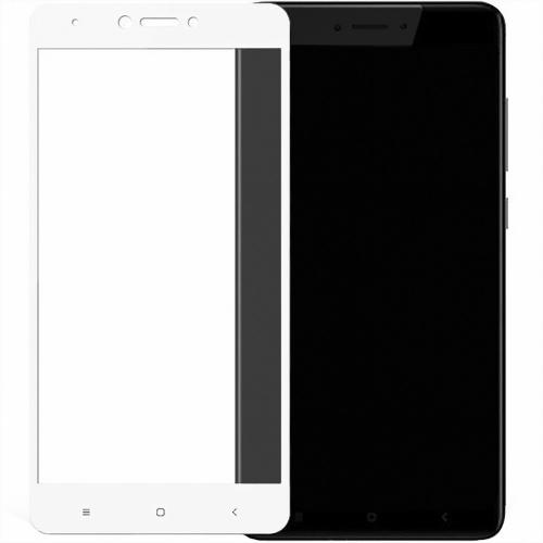 Стекло 5D Matte HD Xiaomi Redmi Note 4x White