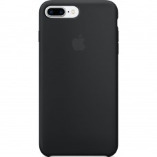 Чехол Silicone Case Apple iPhone 7 Plus / 8 Plus (Black)