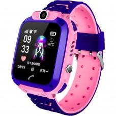 Детские смарт-часы Smart Baby Watch Q12 (Rose)