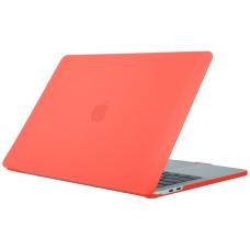 Чехол-накладка Apple Macbook 15.4 Pro 2020 (Coral orange)