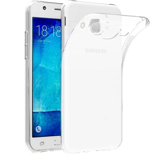 Силиконовый чехол WS Samsung Galaxy J7 (2015) J700 J705 Neo (Белый матовый)