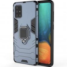 Бронь-чехол Ring Armor Case Samsung Galaxy A71 (2020) (Пыльная бирюза)