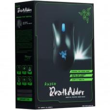 мышь проводная USB Razer DeathAdder (Чёрно-синий)