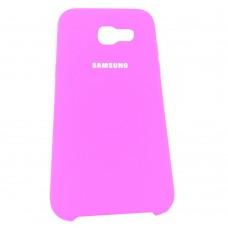 Силикон Original Case Samsung Galaxy A5 (2017) A520 (Розовый)