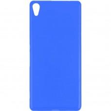 Силиконовый чехол Multicolor Sony Xperia XA (синий)