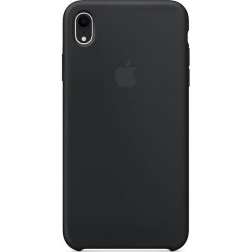 Чехол Silicone Case Apple iPhone XR (Black)