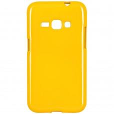 Силикон Jelly Samsung Galaxy J1 (2016) J120 (Жёлтый)