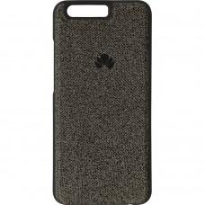 Силикон Textile Huawei P10 (Чёрный)