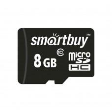 Карта памяти Smartbuy MicroSDHC UHS-1 8Gb (Class 10)