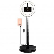 Набор для съемки LED-лампа на стойке G1 (26 cm) (Чёрный)