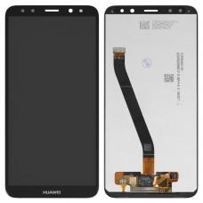 Дисплейный модуль для Huawei Mate 10 Lite (Black) (RNE-L01, RNE-L21)