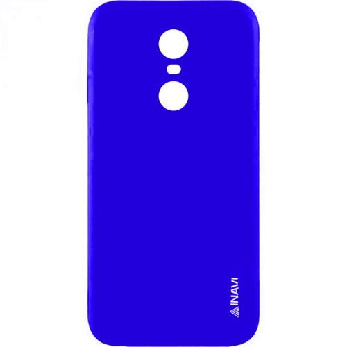 Силиконовый чехол iNavi Color Xiaomi Redmi Note 4x (темно-синий)