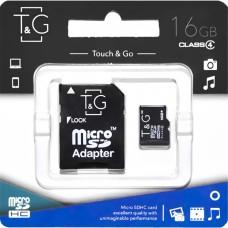 Карта памяти Touch & Go 16Gb (Class 4) + SD-адаптер