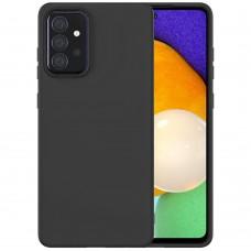 Силикон Wave Case Samsung Galaxy A52 (2021) (Чёрный)