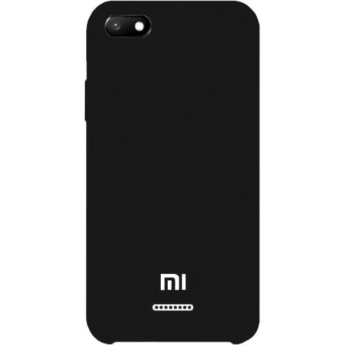 Силиконовый чехол Original Case Xiaomi Redmi 6A (Чёрный)