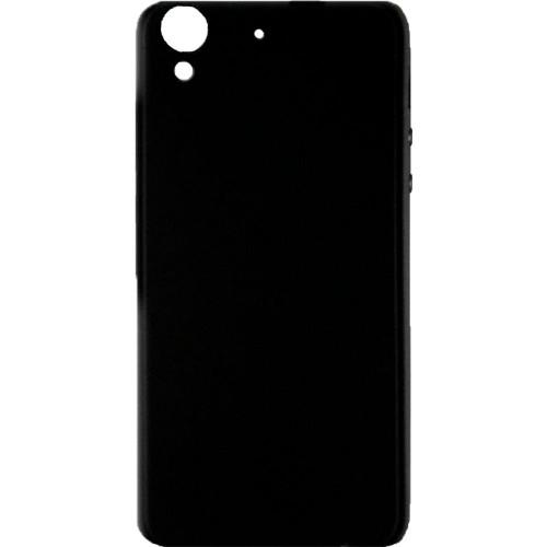Силиконовый чехол iNavi Color Huawei Y6-2 (Чёрный)