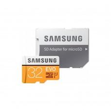 Карта памяти Samsung UHS-I 32GB сlass10 + SD адаптер (MB-MC32GA/RU)