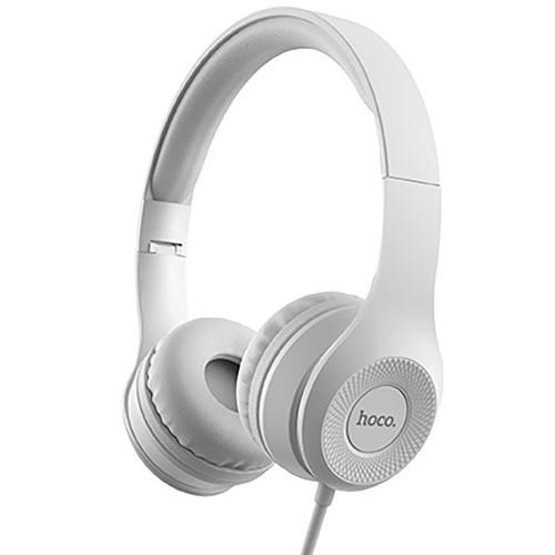 Наушники-гарнитура для компьютера Hoco W21 (Серый)