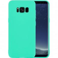 Силикон iNavi Color Samsung Galaxy S8 (Бирюзовый)