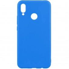 Силиконовый чехол Multicolor Huawei Honor 8X (синий)