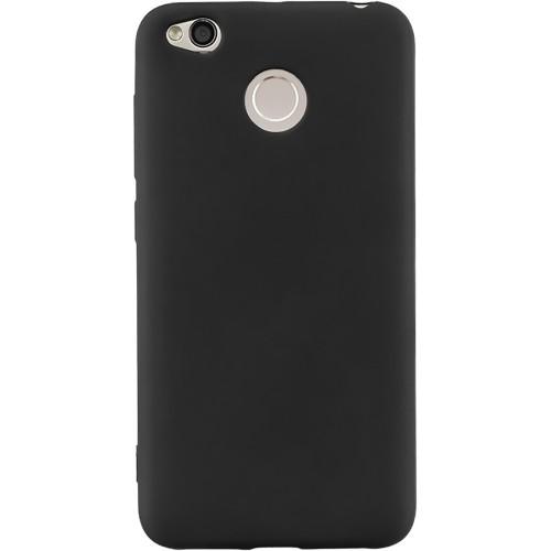 Силиконовый чехол iNavi Color Xiaomi Redmi 4x (черный)