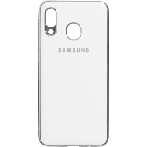 Силиконовый чехол Zefir Case Samsung Galaxy A20 / A30 (2019) (Белый)