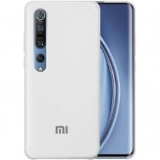 Силикон Original Case Xiaomi Mi10 / Mi10 Pro (Белый)