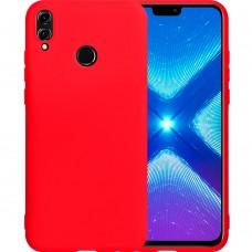 Силиконовый чехол iNavi Color Huawei Honor 8X (Красный)