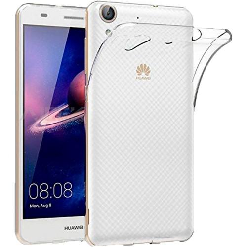 Силиконовый чехол WS Huawei Y6 II (прозрачный)