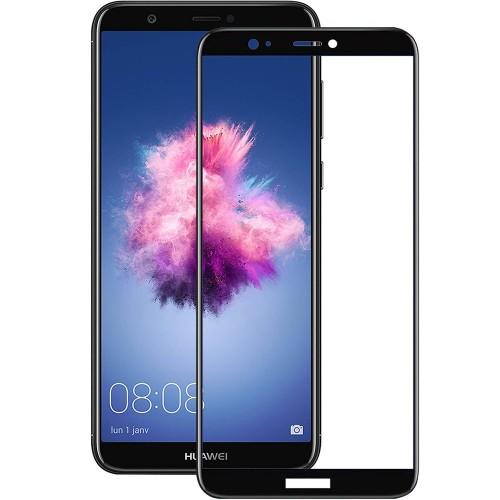 Стекло 5D Japan HD Huawei P Smart Black