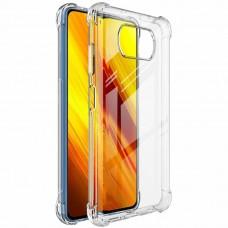 Силикон 6D Xiaomi Poco X3 (Прозрачный)