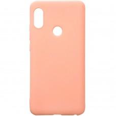 Силиконовый чехол iNavi Color Xiaomi Redmi Note 5 / Note 5 Pro (розовый)