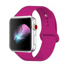 Ремешок Apple Watch Silicone 42 / 44mm (31) Barbie Pink