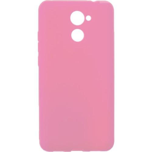 Силиконовый чехол SMTT Huawei Y7 2017 (Розовый)